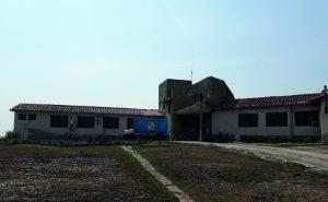Sede del Centro de Salud de IPS en Bahía Negra