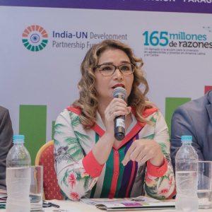 Lida Sosa, viceministra de Rectoría y Vigilancia de la Salud.