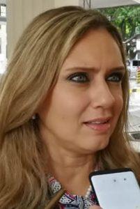 Rocio Vallejo, diputada del PPQ