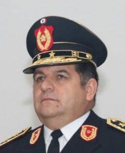 Luis Ignacio Arias, comisario general comandante de la Policía Nacional.